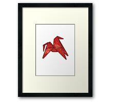 Origamipony Framed Print