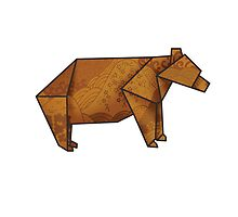 Origamibear by pixelvision