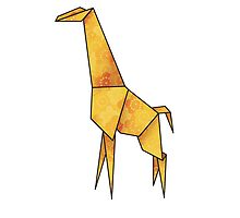 Origamiraffe by pixelvision