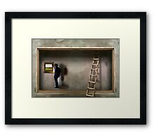 Mestre de Obra Framed Print