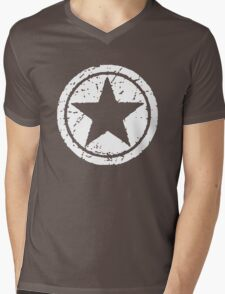 Power Star Mens V-Neck T-Shirt