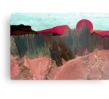 """Desert Sunset""  - Arizona desert hills. Metal Print"