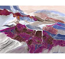 """Hidden Hills""  - The secret hills deep in Idaho. Photographic Print"