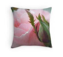 Blooming Ages Throw Pillow