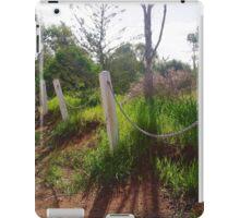 Footpath Near York, WA iPad Case/Skin
