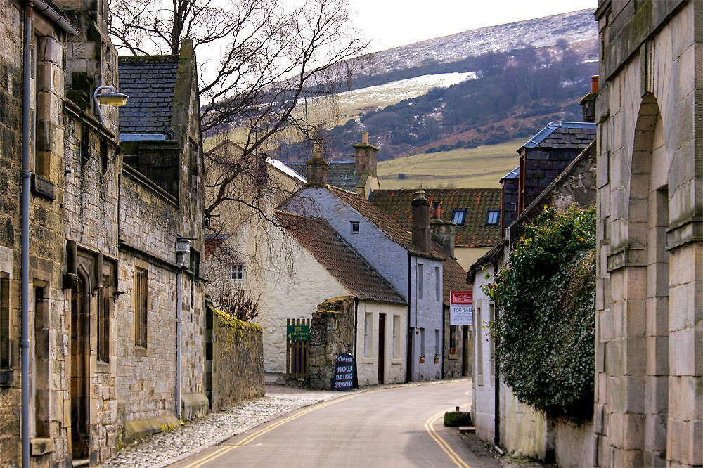Falkland, Scotland by Lynden
