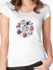 Bomberman Essentials Women's Fitted Scoop T-Shirt