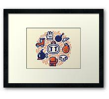 Bomberman Essentials Framed Print