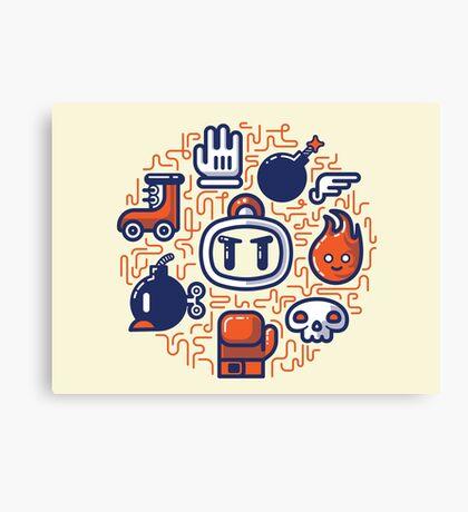 Bomberman Essentials Canvas Print