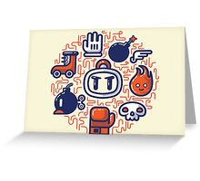Bomberman Essentials Greeting Card