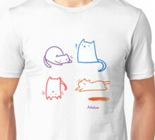 Silly Cats Unisex T-Shirt