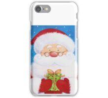 Cute Santa, Penguin and Reindeer iPhone Case/Skin