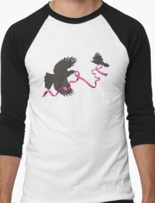 Flying Tui with Pink Ribbon T-Shirt