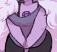Happy Amethyst Sticker