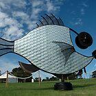 Silver Fish,Sculptures on The Edge,Australia 2015 by muz2142