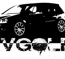 VW Golf MKV Golf 5 GTI by HogarthArts