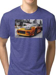 Pimped street car racer Front Tri-blend T-Shirt