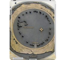 map of castlerigg stone circle iPad Case/Skin