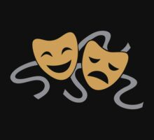 Theatre Drama Masks by AghumeiShirt56