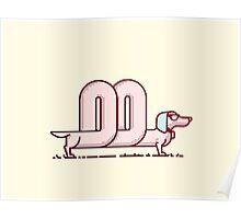 Cool Sausage Dog Poster