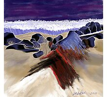 """Sandy Beach"" - Beach scene. Photographic Print"