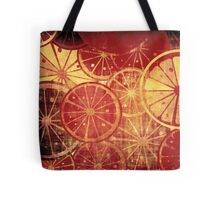 Lemons grunge Tote Bag