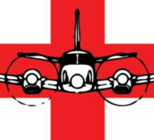 King Air C90 Medevac (front) Sticker