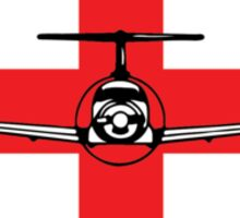 Pilatus PC12 Medevac (front) Sticker