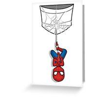 Pocket Spiderman Greeting Card