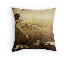 Free Fall Throw Pillow