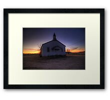 The Humble House of GOD Framed Print
