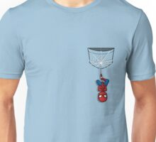 Pocket Spiderman Unisex T-Shirt