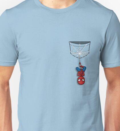 Pocket Spiderman Unisex T-Shirt