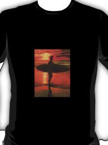 Sunrise Surfer  T-Shirt
