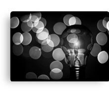 The light that burns twice as bright burns for half as long Canvas Print