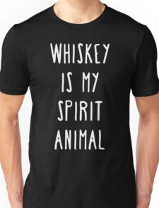 Whiskey is My Spirit Animal Unisex T-Shirt