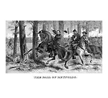 The Fall Of Reynolds -- Civil War Photographic Print