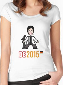 Germany 2015 Women's Fitted Scoop T-Shirt