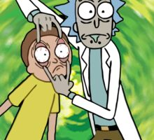 Rick and Morty Scientist Sticker