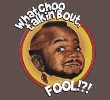 Mr Gary T Coleman - Whatchoo talkin'bout FOOL!?! One Piece - Short Sleeve
