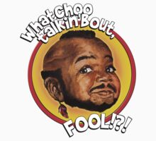 Mr Gary T Coleman - Whatchoo talkin'bout FOOL!?! One Piece - Long Sleeve