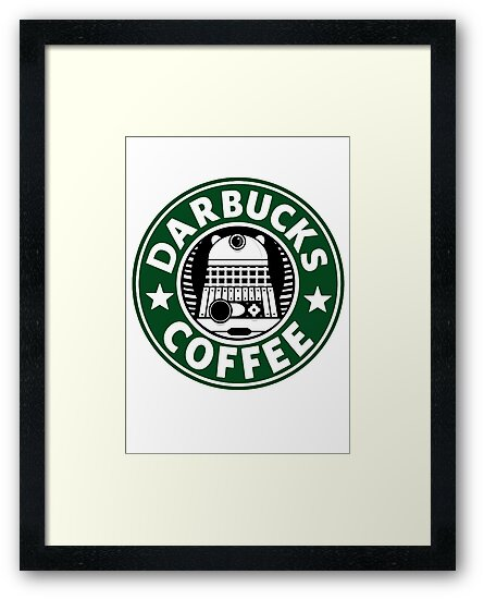 Darbucks Coffee by ToneCartoons