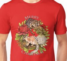 Australian Christmas Wreath Unisex T-Shirt
