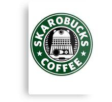 Skaro Coffee Green Metal Print