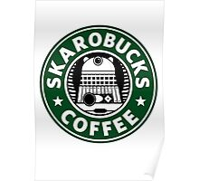Skaro Coffee Green Poster