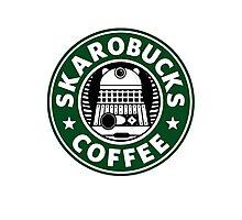 Skaro Coffee Green Photographic Print