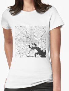 Baltimore Map Gray T-Shirt