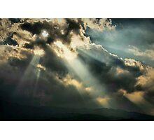 Holes in the Floor of Heaven Photographic Print