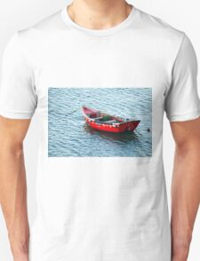 Red Fishing Boat Unisex T-Shirt