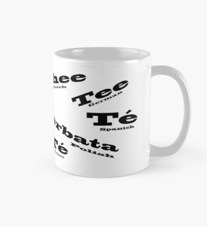 Tea in Languages Mug